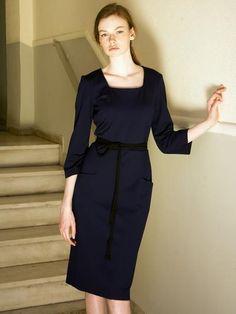 Samantha Sotos - womenswear ready to wear collection. Fall Winter, Autumn, Peplum Dress, Winter Fashion, Ready To Wear, Women Wear, Dresses For Work, How To Wear, Clothes