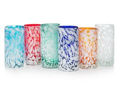 Cloud Tumblers from Uncommon Goods...$65. for 6.  for the new house!