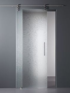 MADRAS® FILI SMALTO - Designer Decorative glass from Vitrealspecchi ✓ all information ✓ high-resolution images ✓ CADs ✓ catalogues ✓ contact. Frosted Glass Interior Doors, Frosted Glass Door, Glass Barn Doors, Glass Shower Doors, Glass Bathroom, Bathroom Doors, Sliding Glass Door, Sliding Doors, Sliding Door Design