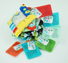 Mini I Spy Bag Party Favors - Pack of 6 - Boys Mix - Word and Photo Cards Included