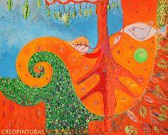 """RAIZ 2014 """"Espacios de color y colores imbuidos"""" Acrílico sobre lienzo 100 x 80 cm."""