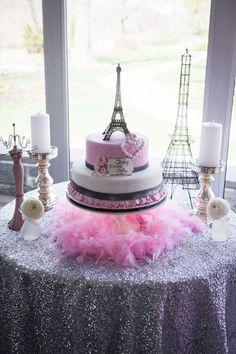 Superior Pink Paris Themed Baby Shower With So Many Really Cute Ideas Via Karau0027s  Partyu2026