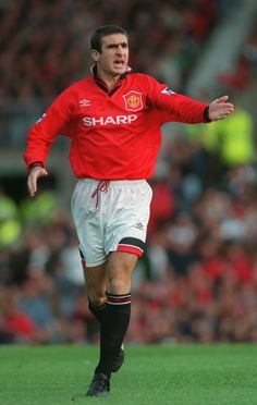 Eric Cantona, Manchester United 1995/96.  Source: Yahoo! Deportes
