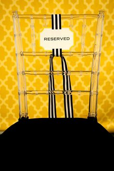 Oh My! Lucite Chiavari Chairs! By The Cinderella Project -- see more at LuxeFinds.com