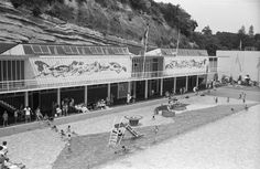 Parnell Baths, Auckland - where I learned to swim    'Sir George Grey Special Collections, Auckland Libraries, 580-9414'