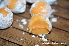 Creamsicle Truffles