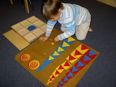 Inspired Montessori and Arts at Dundee Montessori: Sensorial Shape Box to Design With