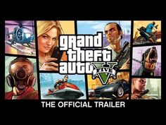 ▶ Grand Theft Auto V: The Official Trailer - YouTube