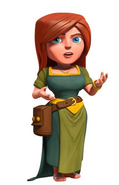 """Clash of Clans """"Villager"""" character"""