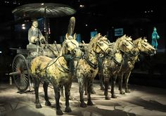 Xian Small-Group Tour: Terracotta Warriors, Dumpling Banquet and Tang Dynasty Show in Xi'an in China Asia Dynasty Show, Terracotta Army, China Architecture, Exotic Art, Dynasty Warriors, Archaeological Finds, Small Group Tours, Horse Sculpture, Chinese Culture