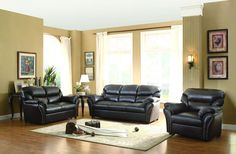 Homelegance 8439AH-3 Stinett Collection Color • Dark Brown Airehyde Match