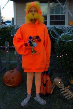 Lorax costume halloweenery pinterest lorax costume lorax and the lorax my sisters perfect halloween costume solutioingenieria Image collections