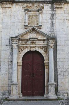 Πόρτα του ναού Αγίου Μηνά.15/02/2016.