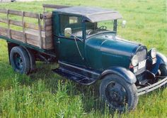 1929 Ford AA stake truck