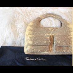 I just added this to my closet on Poshmark: Oscar de la Renta Clutch. Price…
