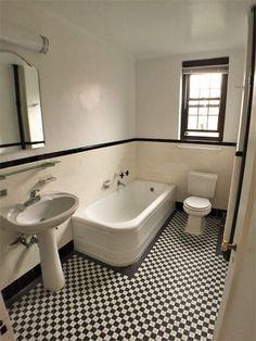 アメリカのバスルーム研究 -お洒落な洗面所にするために – Pinch of Classic