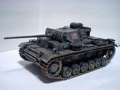 1/48 III号戦車 | タミヤ1/48MM ドイツIII号戦車L型