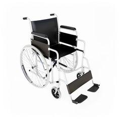 Hospital wheelchair.
