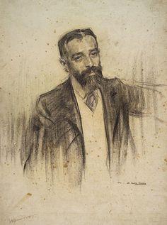Portrait Of Luis Morote  Ramon Casas