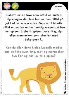 lovenlisbethoppstart Danish Language, Norway Language, Communication Is Key, Reading Worksheets, My Job, Teaching Math, In Kindergarten, Second Grade, Family History