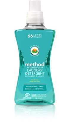 naturally derived cleaning power in this NEW laundry detergent fights tough dirt + stains. so your whites stay white and your colors stay bright. SHOP NOW> Laundry Supplies, Laundry Hacks, Cleaning Supplies, Method Cleaning Products, Eco Products, Green Products, Household Products, Method Cleaner, Method Laundry Detergent