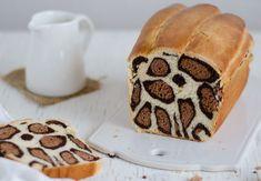 this brilliant leopard cake makes guests speechless so you bake it - Kuchen Kindergeburtstag - Nutella Milk Bread Recipe, Bread Recipes, Cake Recipes, Dessert Recipes, Cooking Recipes, Animal Bread Recipe, Food Cakes, Cake Zebré, Leopard Cake