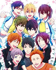 (Almost) all the Free! Cast! Anime: Free! Eternal Summer
