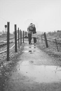 East Somerset Railway, Cranmore Station. Engagement shoot. Black and white photography.  Matt Fox Photography - Blog