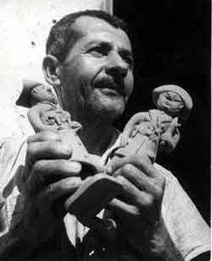 Traditional artist from 50s Pernambuco: Mestre Vitalino