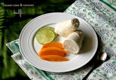 Ruchik Randhap (Delicious Cooking): Creamy Lime & Coconut Kulfi