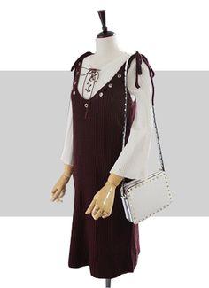 샤르르 사랑스런 라라스♡♡ 회원가입시 즉시 쓰실수 있는 2000원 적립금 드려요~~^^ Rebecca Minkoff, Korea, Cold Shoulder Dress, Dresses, Fashion, Vestidos, Moda, Fashion Styles, Dress
