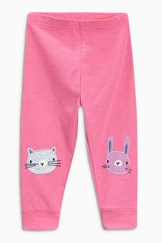 Купить Розовые леггинсы с кошками (3 мес.-6 лет) - Покупайте прямо сейчас на сайте Next: Россия