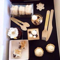 Dessert tasting Black Wedding Cakes, Cake Business, Cake Tasting, Wedding Desserts, Edible Art, Relleno, Amazing Cakes, Nom Nom, Bakery