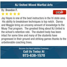 Jay Hayes is one of the best instructors in the tri state area. His ability to breakdown...
