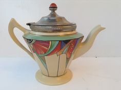 VINTAGE ROYAL ROCHESTER ART DECO RARE TEA POT by Terese Vernita