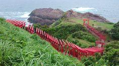 長門・元乃隅稲荷神社 Motonosumi Inari Shrine Nagato,YamaguchiPref. #MotonosumiShrine #長門