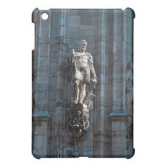 Milan Cathedral dome statue architecture monument iPad Mini Case - cyo customize create your own #personalize diy