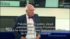 Janusz Korwin-Mikke kertoo totuuden Muslimien maahanmuutosta
