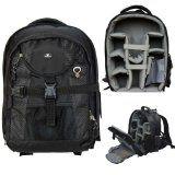 Case4Life Pro Range SLR DSLR Backpack Bag with Tripod Holder + Rain Cover for Nikon SLR D3100, D3200, D3300, D4, D40, D5100, D5200, D5300, D610, D700, D7100, D800 – Lifetime Guarantee