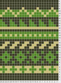 fair isle chart for MITTENS, nordiska vantar Fair Isle Knitting Patterns, Knitting Stiches, Fair Isle Pattern, Knitting Charts, Knitting Designs, Minecraft Knitting, Fair Isle Chart, Mochila Crochet, Cross Stitch Pattern Maker