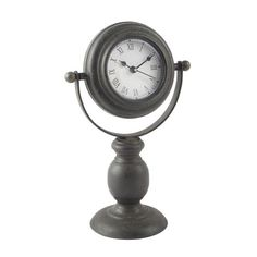 <div>This clock looks like it came from an antique shop, but it has the reliability of a battery...