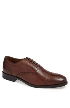 Johnston & Murphy 'Tyndall' Cap Toe Oxford (Online Only) available at #Nordstrom