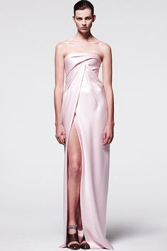 Our pick for Zooey Deschanel's Golden Globes gown:  J. Mendel
