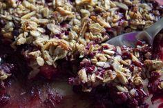 Wild Berry Crumble Recipe | Meghan Telpner Nutritionista