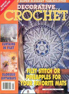 Decorative Crochet Magazines 55 - Gitte Andersen - Picasa Web Albums