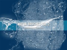 Water Brush Set. free for personal and commercial use Shout Out to Webdesigner Lab