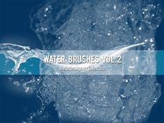 Water Brushes Vol 2 par gratiela