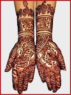 Indian Simple Mehndi Designs