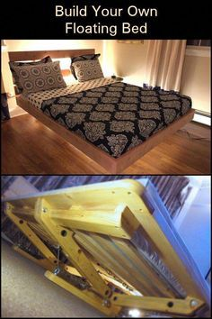 Bed Frame No Box Spring Needed Full Bed Frame Queen 18 Inch Furnituremaking Furniturejakarta Bedframes With Images Queen Bed Frame Diy