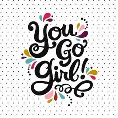 Geslaagd / Diploma kaart - you-go-girl